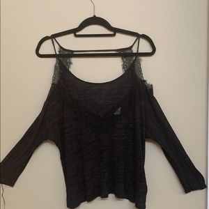 Pins and Needles Black Sweater